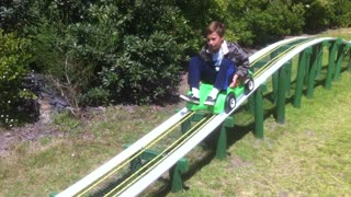 Homemade Roller Coaster