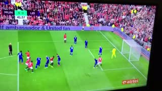 VIDEO : Goal: Pogba with his first goal for Man United. 4-0 - Video
