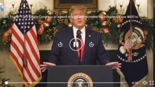 Trump Speaks on COVID Relief Package