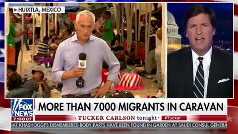 Jorge Ramos Challenges Tucker Carlson to 'Tell the Truth' About Caravan