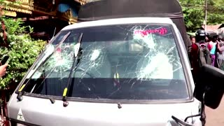 Shots fired at Yangon anti-military protest