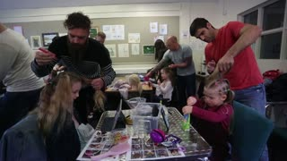 Dad creates hair plaiting workshop for fathers