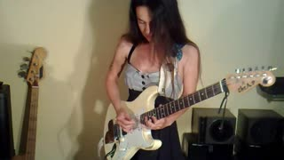 Guitarist Eva Vergilova's jaw-dropping 'Lynyrd Skynyrd' cover