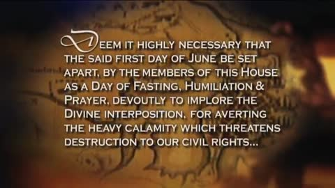 03 Miracles In American History Boston Tea Party - Jefferson to Propose Day of Fasting