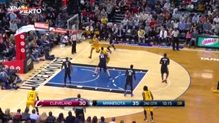 Kyrie Irving Makes Gorgui Dieng DANCE with Crossover - Video