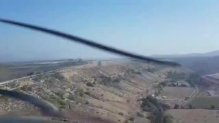 Low pass over ovalle airport