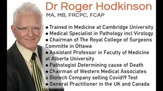 Dr. Roger Hodkinson Outraged at Covid-19 Hoax and Mask Mandates