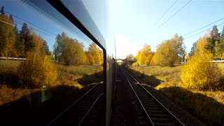 GoPro mounted on train - Video