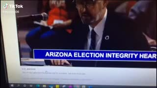 Arizona Election Integrity Hearing