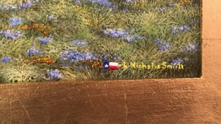 New Painting Preview, Texas Landscape