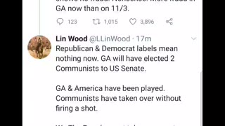 Lin Wood...January 6th is a trap!