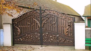 Most beautiful gate for a private House- Design Home - Video