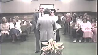 Special Service - Wedding Day, Victor Herring and Carrie Strickland, 1989