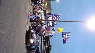 20201207 March for Trump, Sterling Heights, MI Hall Road
