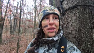 Black Bear at 10 YARDS! | Allie D'Andrea | Wide Open Spaces