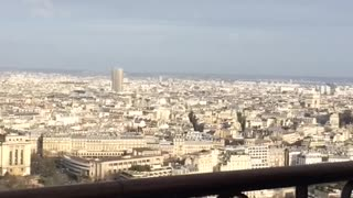 A wonderful view from the Eiffel Tower