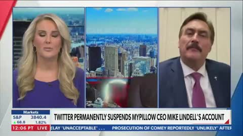 Newsmax reporter storms off set live on air during heated exchange with Mike Lindell