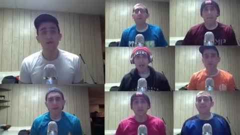 One-man a capella cover of