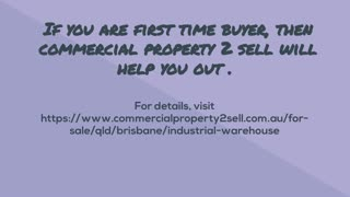 Tips to Buy Industrial Property at Brisbane. - Video