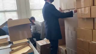 Georgia Boxes FULL of Missing BALLOTS
