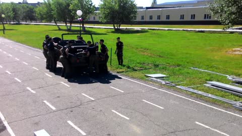 Fast disassembly and assembly of UAZ