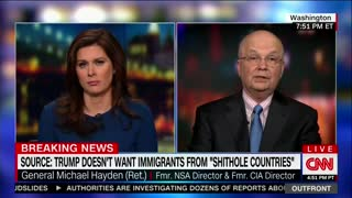 Fmr CIA Director: We Should Collectively Be 'Ashamed,' 'Frightened' By Trump's 'S**thole' Comment - Video