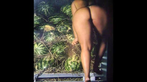 So Much Watermelon Girl ...a lot of watermelon (V) Woman Skinned Andressa Soares