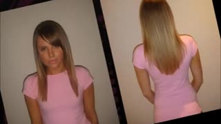 Human Hair Extensions - Video