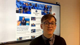 Shrewsbury Town update - October 3 - Video