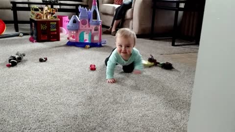 Father documents life with baby