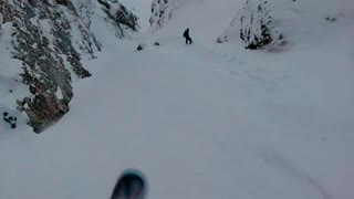 Extreme Backcountry Snowboarding in Wild Carpathia  - Video