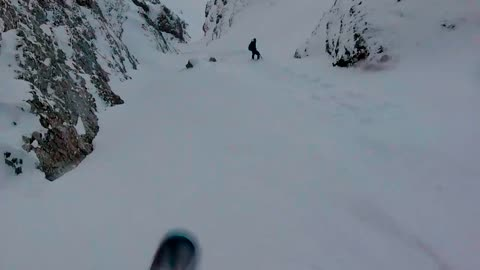Extreme Backcountry Snowboarding in Wild Carpathia