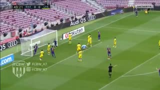 Gol de Sergio Busquets vs Las Palmas - Video