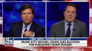 Tucker Takes BuzzFeed's Ben Smith To School On Dossier, 'Partisanship Played A Role' - Video