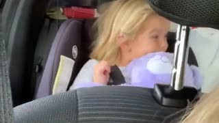 Watch this little girl rap along to her new favorite song