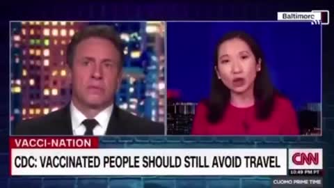 CNN GUEST ADMITS: USE FREEDOM AS AN INCENTIVE SO PEOPLE GET THE 💉