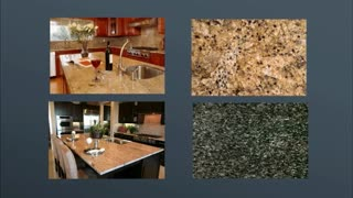 marble countertops - Video