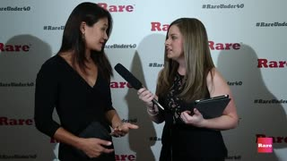 Diana Kim on the red carpet | Rare Under 40 Awards - Video