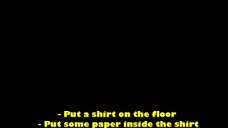 How to make a Star Wars shirt - Video