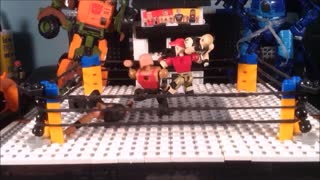 CiiC WWE C3 Construction Hurricane Tag Stop Motion - Video