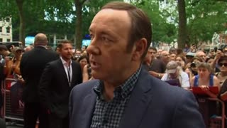 Kevin Spacey launches his fly-on-the wall documentary in London
