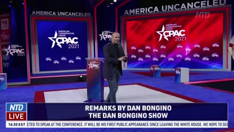 Dan Bongino Speaks at CPAC