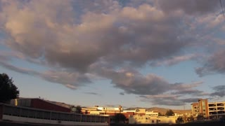 Sky over Boise State University - Video