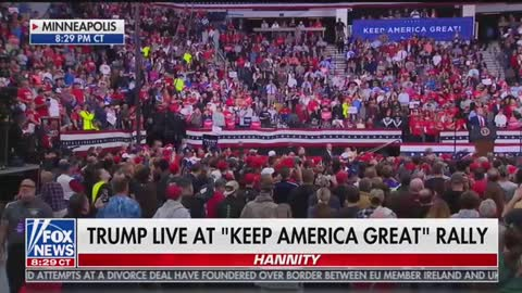 Trump Goes Off on Rep. Omar at MN Rally