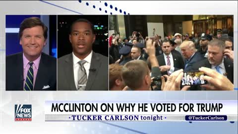 Black man explains why he voted for Trump