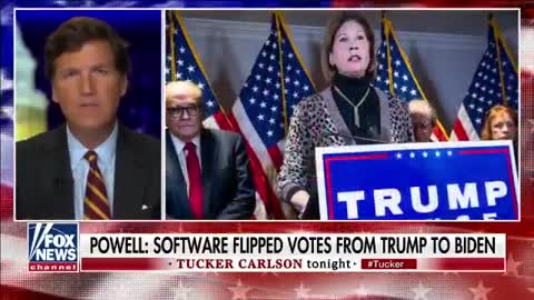 Tucker Carlson - Sidney Powell Could Single Handily Uncover The Greatest Crime!