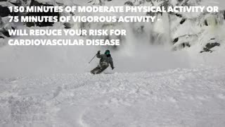 Skiing and exercise - Video