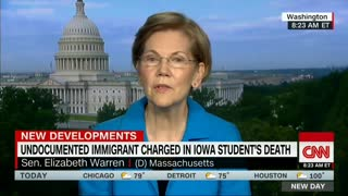 Asked About Mollie Tibbetts, Elizabeth Warren Laments The Treatment Of Illegal Immigrants