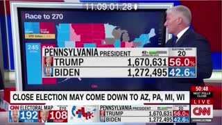 Watch Trump Ballots Switch to Biden
