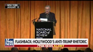 Hollywood continues to hate Trump